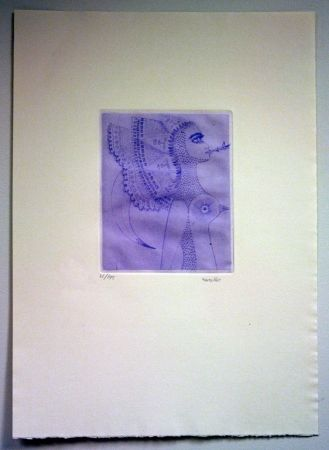 Grabado Svanberg - Dromkvinnans kyss