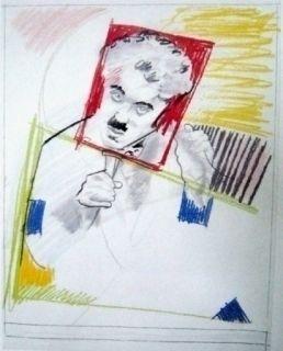 Serigrafía Rivers - Early Chaplin