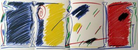 Litografía Kuroda - East/West Pentures i diuixos