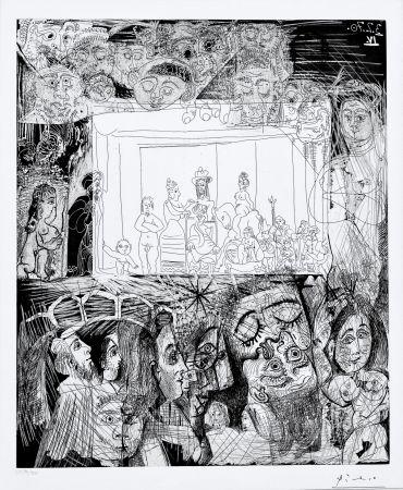 Aguatinta Picasso - Ecce Homo, d'Apres Picasso
