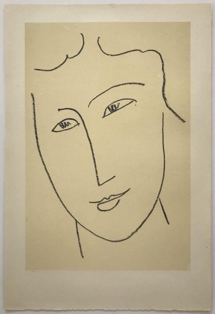 Litografía Matisse - Echos I
