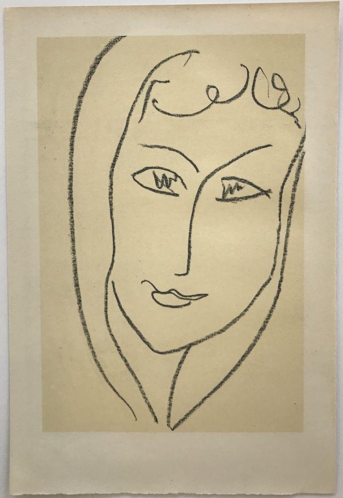 Litografía Matisse - Echos II