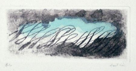 Aguafuerte Y Aguatinta Fautrier - Eclaircie verte