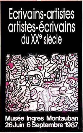 Offset Dubuffet - Ecrivains Artistes  du xxe  Siecle