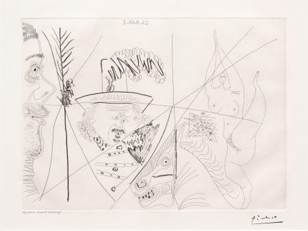 Grabado Picasso - Ecuyere de Cirque