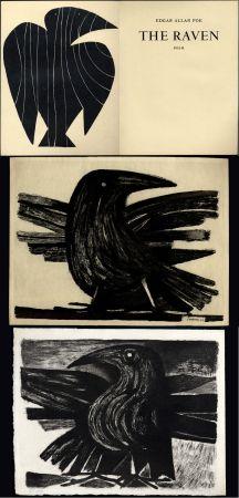 Libro Ilustrado Prassinos - Edgar Allan POE. THE RAVEN