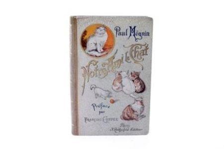 Libro Ilustrado Manet - Edouard Manet/ Paul Mégnin. Notre ami le chat. 1899.