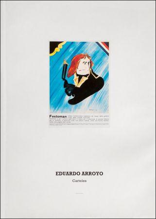 Libro Ilustrado Arroyo - Eduardo Arroyo: Carteles