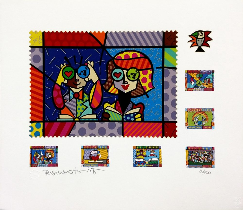 Serigrafía Britto - EDUCATING THE WORLD
