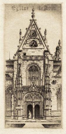 Grabado Arms - Eglise de Notre Dame, Bourg-En-Bresses