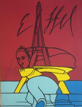 Litografía Adami - Eiffel
