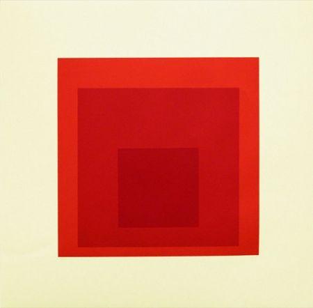 Serigrafía Albers - EK IK (1970), Hommage to the Square: Editions Keller