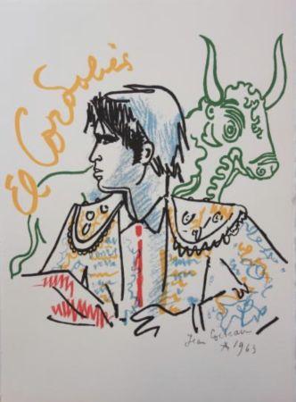 Litografía Cocteau - El cordobes