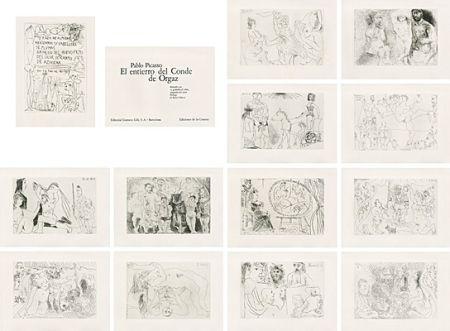 Libro Ilustrado Picasso - El entierro del Conde de Orgaz
