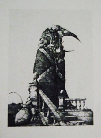 Aguafuerte Y Aguatinta Hernandez - El monumento inacabado