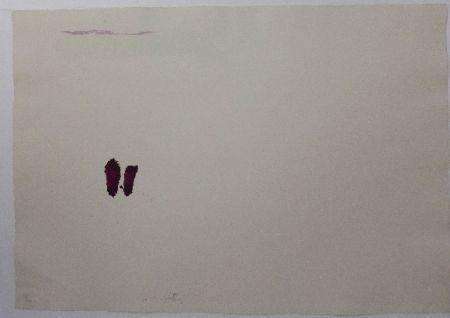 Litografía Tàpies - El Pa a la Barca 3