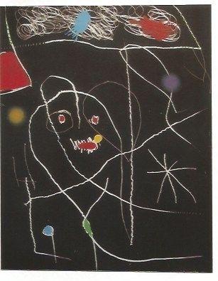 Grabado Miró - El Pi (Elpe) de Formentor