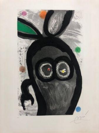 Aguafuerte Y Aguatinta Miró - El rey de los conejos