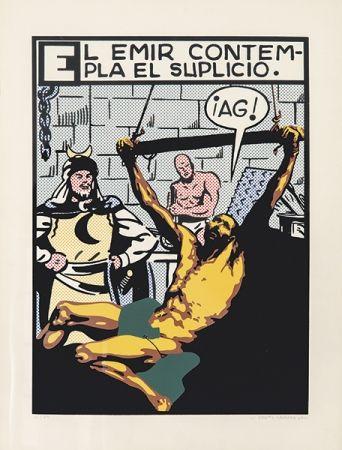 Serigrafía Equipo Cronica - El suplicio