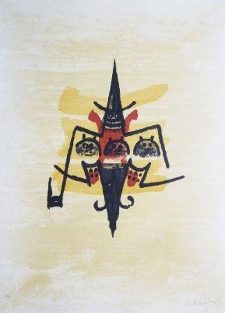 Litografía Lam -  El ultimo viaje del buque fantasma - 12