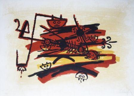 Litografía Lam - El ultimo viaje del buque fantasma - 4