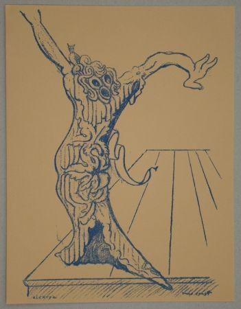 Litografía Ernst - Electra