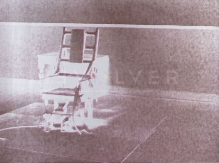 Serigrafía Warhol - Electric Chair (FS II.78)