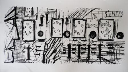 Litografía Buffet - Electronic Circuits, Siemens,
