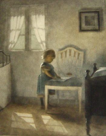Manera Negra Ilsted - Ellen, Little Girl In A Blue Dress