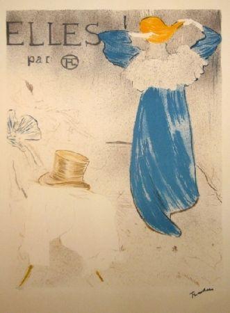 Litografía Toulouse-Lautrec - Elles