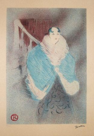 Litografía Toulouse-Lautrec - Elsa la viennoise