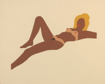 Sin Técnico Wesselmann - Embossed Nude #8 (study for The Great American Nude)