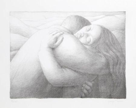 Litografía Tooker - Embrace