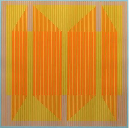 Serigrafía Stanczak - Emerging Orange