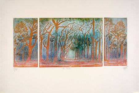 Aguafuerte Y Aguatinta Robert - En forêt