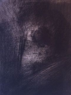 Grabado Leroy  - En Hauteur sur un lit sombre en diagonale