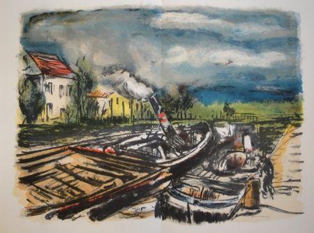 Libro Ilustrado Vlaminck - En noir et en couleur