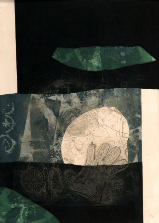 Carborundo Clavé - En noir et vert