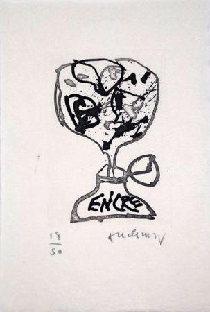 Libro Ilustrado Alechinsky - Encre (Lettre Suit -