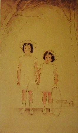 Grabado Marcoussis - Enfants Muhlstein