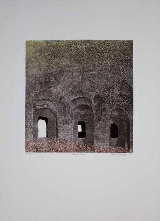 Aguafuerte Y Aguatinta Vernunft - Entro le mura
