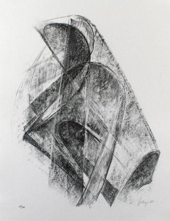 Litografía Belling - Entwurf für eine Plastik