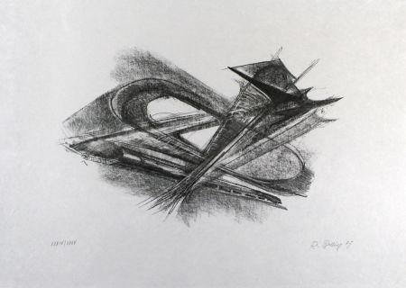 Litografía Belling - Entwurf für Metallplatten und Draht I