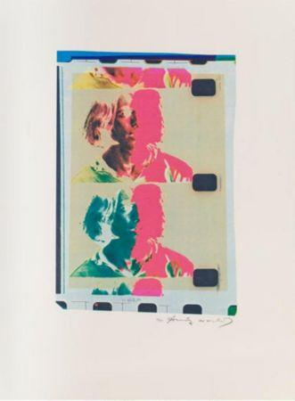 Litografía Warhol - Eric Anderson (Chelsea Girls)