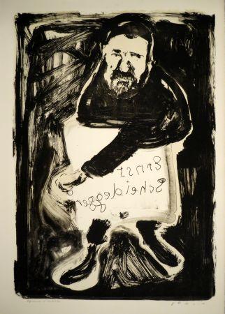 Litografía Varlin (Guggenheim, Willy) - Ernst Scheidegger