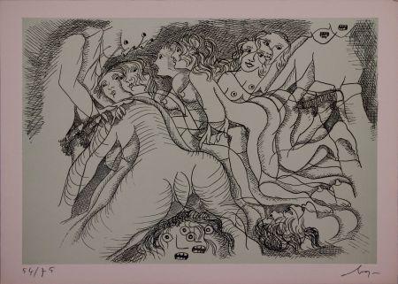Aguafuerte Baj - Erotica III