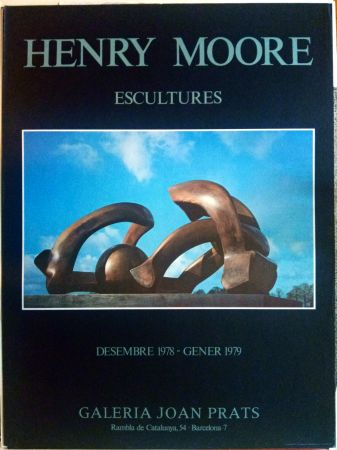 Cartel Moore - Escultures