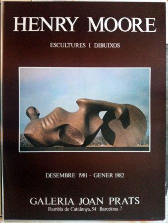 Cartel Moore - Escultures i Dibuixos