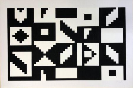 Serigrafía Agam - Espace Iii