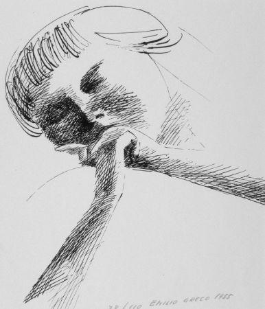 Litografía Greco - Estasi n.2